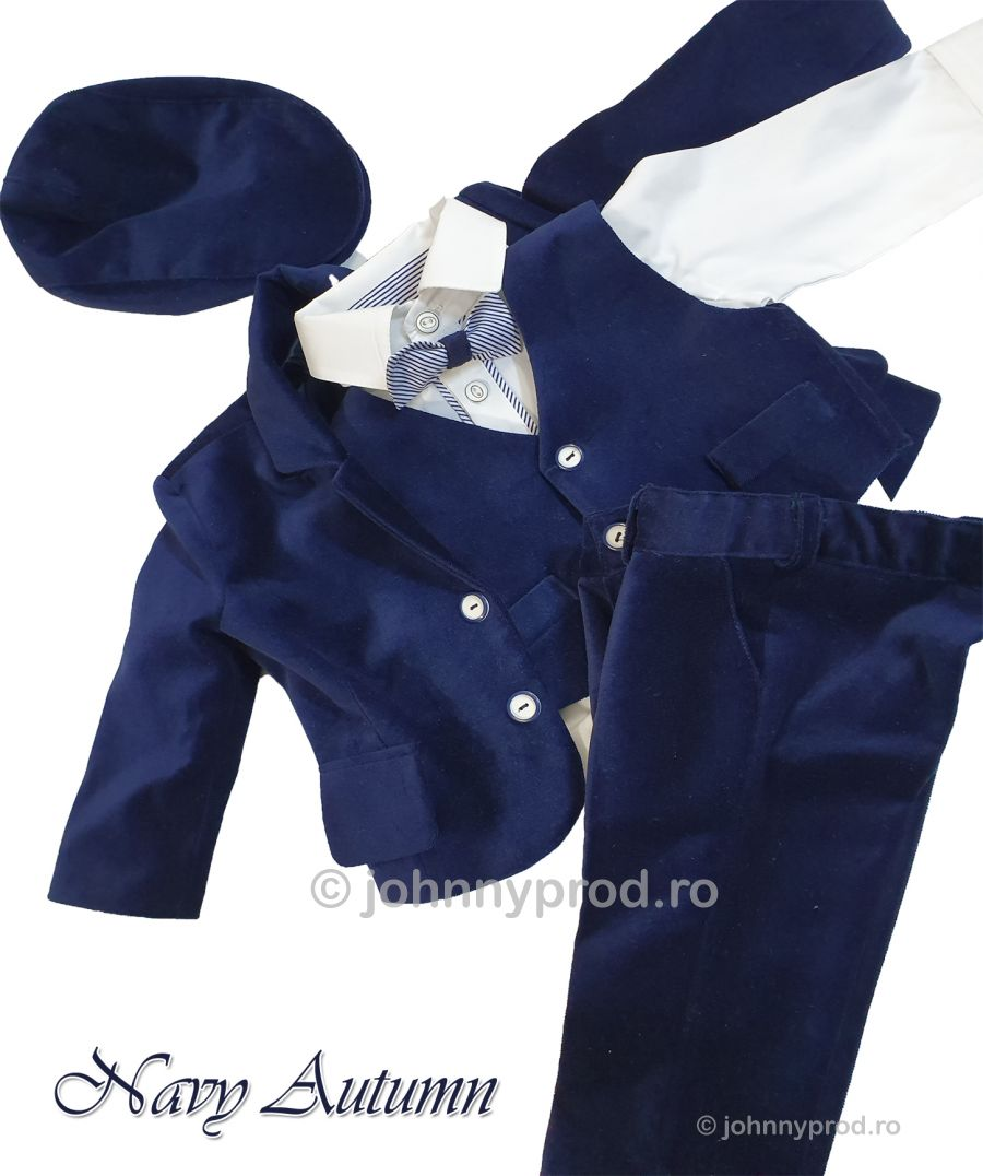 foto Costum baieti -Navy autumn