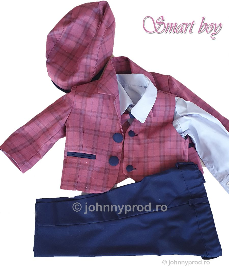 foto Costum botez baieti -Smart boy